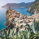 Vernazza town in the Cinque Terre in summer - PhotoDune Item for Sale
