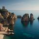Faraglioni rocks and Tonnara in Scopello on Sicily - PhotoDune Item for Sale