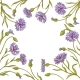 Cornflower Vector Frame - GraphicRiver Item for Sale