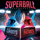 American Football Superball Flyer College Football Template - GraphicRiver Item for Sale