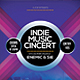 Indie Music Concert Flyer / Poster - GraphicRiver Item for Sale