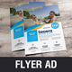 Travel Resort Flyer Design v1 - GraphicRiver Item for Sale