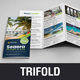 Travel Resort Trifold Brochure Design v2 - GraphicRiver Item for Sale