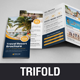 Travel Resort Trifold Brochure Design v3 - GraphicRiver Item for Sale