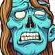 Female Zombie - GraphicRiver Item for Sale