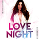 Love Night Party Flyer Templates - GraphicRiver Item for Sale