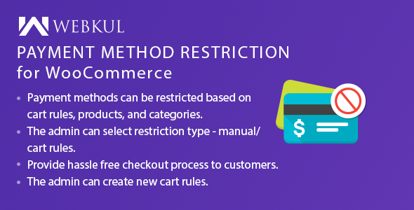 Payment Method Restriction Plugin for WooCommerce - CodeCanyon Item for Sale