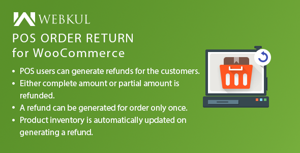 POS Order Return Plugin for WooCommerce - CodeCanyon Item for Sale
