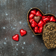 Heart shaped chocolate candies in gift box - PhotoDune Item for Sale