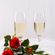 Two glasses of champagne - PhotoDune Item for Sale