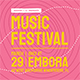 Music Festival Flyer Set - GraphicRiver Item for Sale