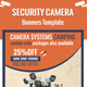 Security Camera Banners - GraphicRiver Item for Sale