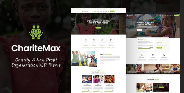 Charitemax - Fundraising WordPress Theme - Charity Nonprofit