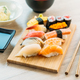 Salmon tuna shell shrimp and other meat sushi maki - PhotoDune Item for Sale