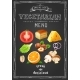 Vegetarian Menu on Chalkboard - GraphicRiver Item for Sale