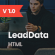 LeadData - Lead Generation HTML Landing Page Template - ThemeForest Item for Sale