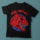 Angry Dinosaur T-shirt Design