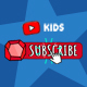 Youtube KIDS Subscribe Button - VideoHive Item for Sale