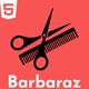Barbaraz - Barbar Shop HTML Template - ThemeForest Item for Sale