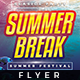 Summer Break - Flyer Template - GraphicRiver Item for Sale