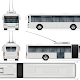 Articulated Trolleybus - GraphicRiver Item for Sale