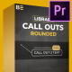 Call Outs Rounded - VideoHive Item for Sale