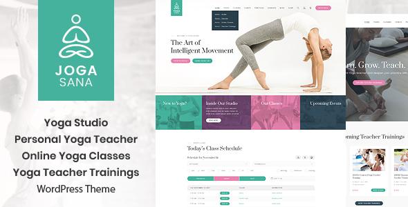 Jogasana - Yoga Oriented WordPress Theme - Health & Beauty Retail