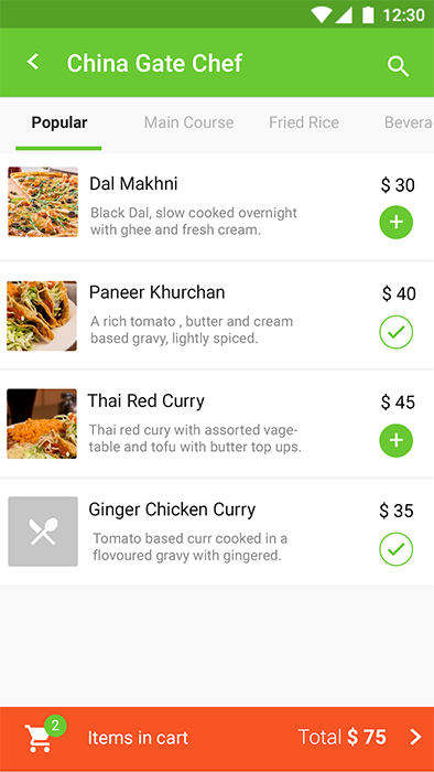 Food Ordering & Delivery Android App + iOS App Template | Cookfu (HTML+CSS  files IONIC 3)