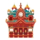 Fairytale Castle Festively Decorated - GraphicRiver Item for Sale