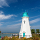 Beautiful lighthouse at Port Dalhousie Harbour, Ontario, Canada - PhotoDune Item for Sale