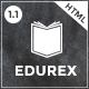 EduRex - Education & Courses HTML Template - ThemeForest Item for Sale