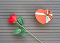 Valentine Day concept with red roses_-2 - PhotoDune Item for Sale