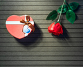 Valentine Day concept with red roses_-6 - PhotoDune Item for Sale