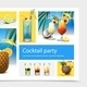 Realistic Cocktail Party Concept - GraphicRiver Item for Sale