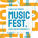 Music Flyer Set - GraphicRiver Item for Sale
