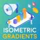 Isometric Gradient Concepts - VideoHive Item for Sale