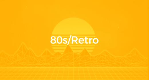 80s, Retro (Audio Idents)