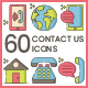 Contact Icons - Hazel Series - GraphicRiver Item for Sale