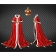 Medieval Monarch Royal Garment Realistic Vector - GraphicRiver Item for Sale