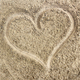 Heart in the sand - PhotoDune Item for Sale