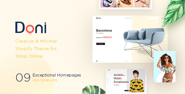 Doni - Minimalist Shopify Theme