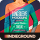 Women Long Sleeve T-Shirt Mockups - GraphicRiver Item for Sale