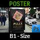 Pizza Restaurant Poster Template Vol.3 - GraphicRiver Item for Sale