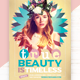 True Beauty Is Timeless Flyer Template - GraphicRiver Item for Sale