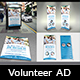 Volunteer / Charity Advertising Bundle Vol.3 - GraphicRiver Item for Sale
