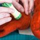 craftsman poking felt with felting punch close up - PhotoDune Item for Sale