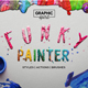 Funky Painter Photoshop Creative Kit - GraphicRiver Item for Sale