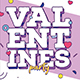Valentines Party Poster Template - GraphicRiver Item for Sale