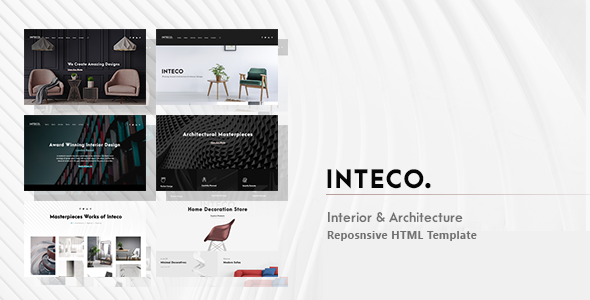 Inteco - Interior & Architecture HTML Template - Corporate Site Templates