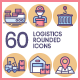 Logistics Icons - Butterscotch Series - GraphicRiver Item for Sale